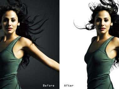 I am working best class Clipping Path , Masking , Photo Man