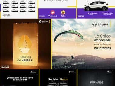 Social Media (Cliente Renault Eje Cafetero)