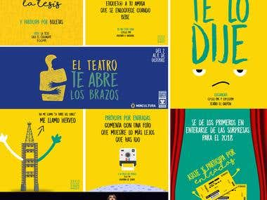 Social Media Cliente (Festival Internacional de Teatro)