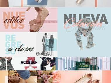 Diseños WEB (Cliente Reindeer)
