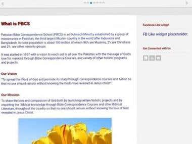PHP based Responsive Admin Panel