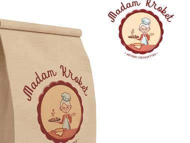 Logo - Madam Kroket