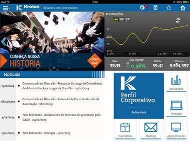 Kroton IR App