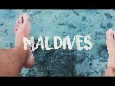 Vlog for Maldives