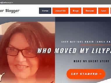 Blogger's website