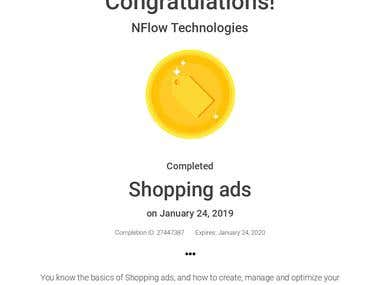 Google Shopping Ads Certification