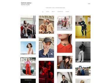 Professional Portfolio Website Development