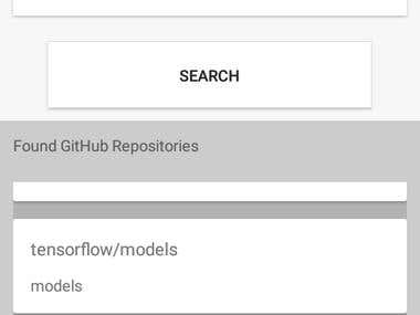 GitHub Pulls Viewer Android App