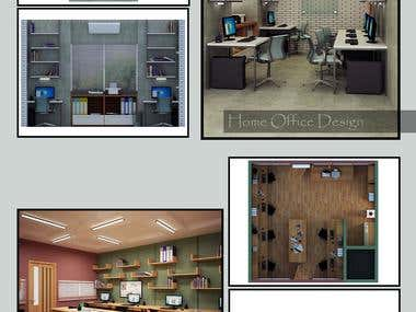 home office design for Magazine