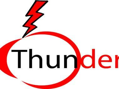 Logo Design Thunder