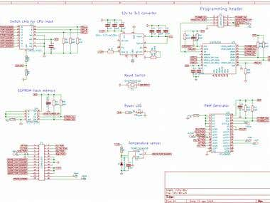 Control Board Schematic and Layout