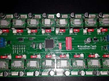 RS485 (motors for control of embroidery machines.)
