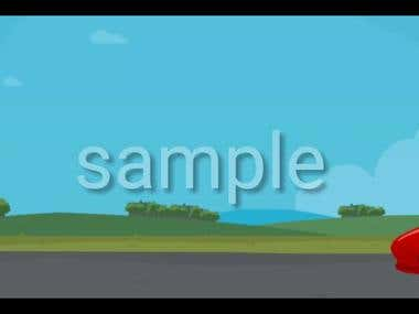 Animation for car repair application