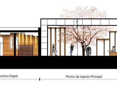 Plantas, Cortes Arquitectonicos