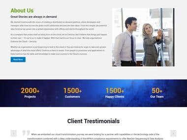 contriva wordpress Website
