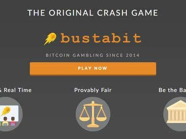 Bustabit cryptocurrency gambling site