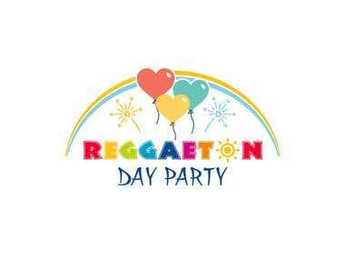 Reggaeton Day Party Logo