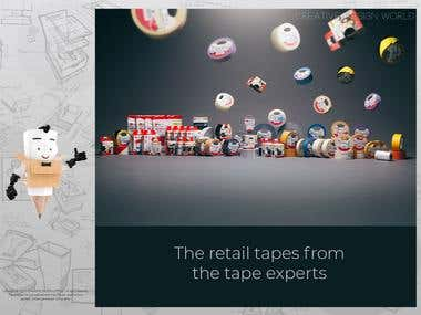 Sanoj Tape complete Branding