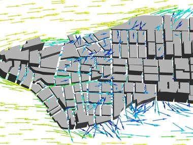 aerodynamic analysis of a city