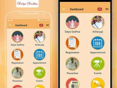 Satya Sadhna Mobile Application Development