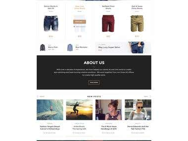 PSD to HTML by bootstrap