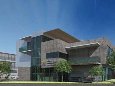 Office building x 2 - EXTERIOR renderings
