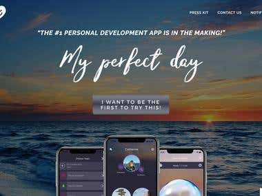 #my-perfect-day-app