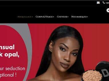 KIMIA HAITI : Site e-commerce
