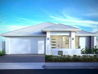 House - EXTERIOR renderings