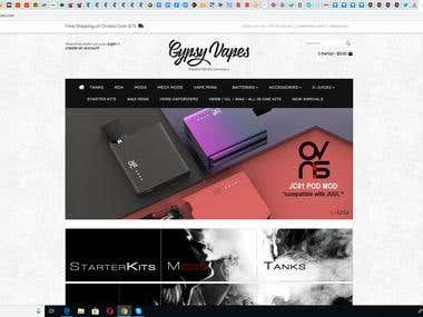 GypsyVapes.com store