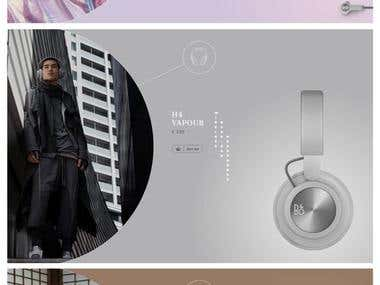 Modern Product Website DESIGN