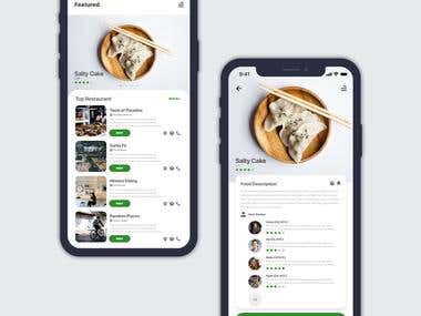 Food Delivery UI Mobile App