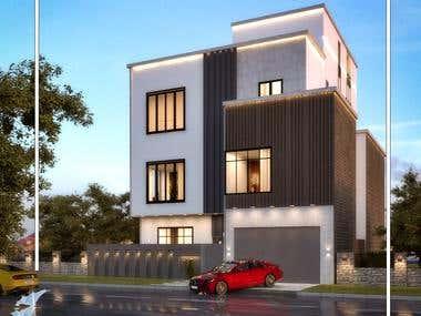 Exterior Villa Design