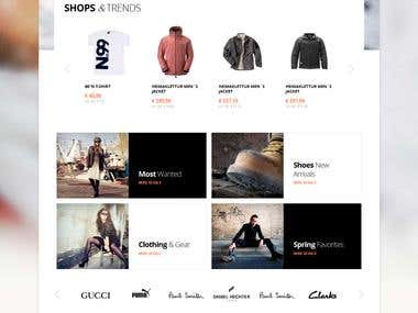 Ecommerce site (product)