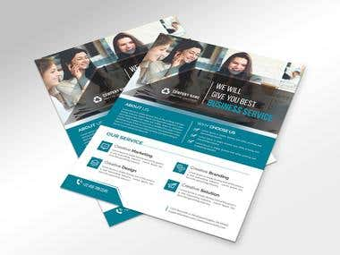 Business Clean Flyer Design