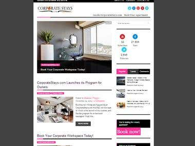Blog on Wordpress