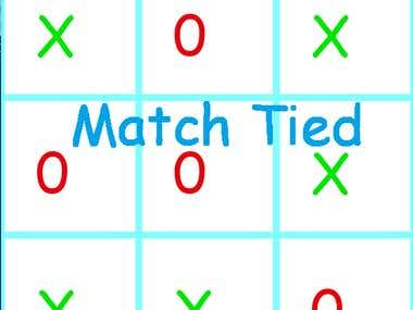 Tictactoe Game with Python