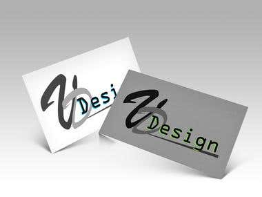 Logo variations on the the front of a business card