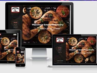 Chicken Restaurant Website