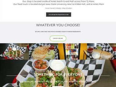 Restaurent WordPress Website