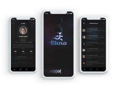 Bloxo App UI/X Design
