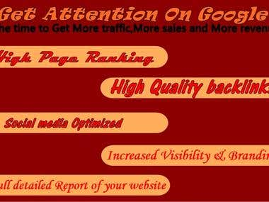 Get Your Website On Top Of The Google..