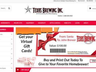 Texas Brewing Inc.