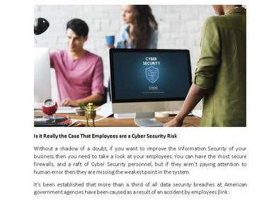 Blog - Cyber Security