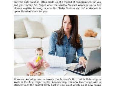 Blog - Working Mums