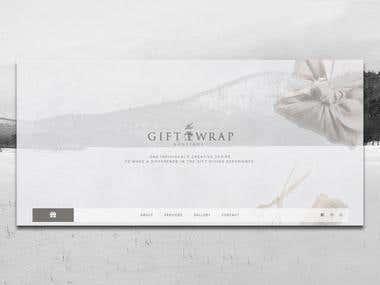 Website - The Gift Wrap Studio