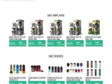 Custom eCommerce
