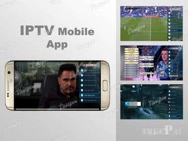 IPTV mobile application