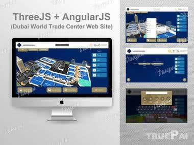 ThreeJS + AngularJS