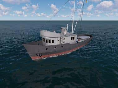 Boat visualization